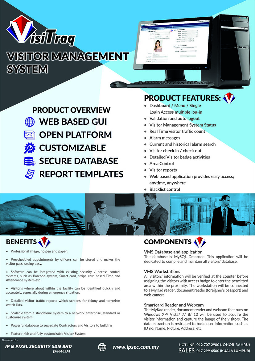 visitor management system ipsec engineering sdn bhd