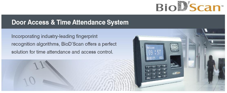 BioDscan Access Control