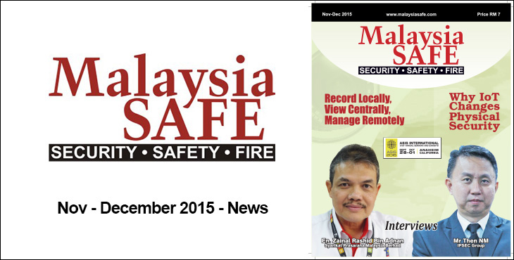 Malaysia Safe Featured – Nov – December 2015