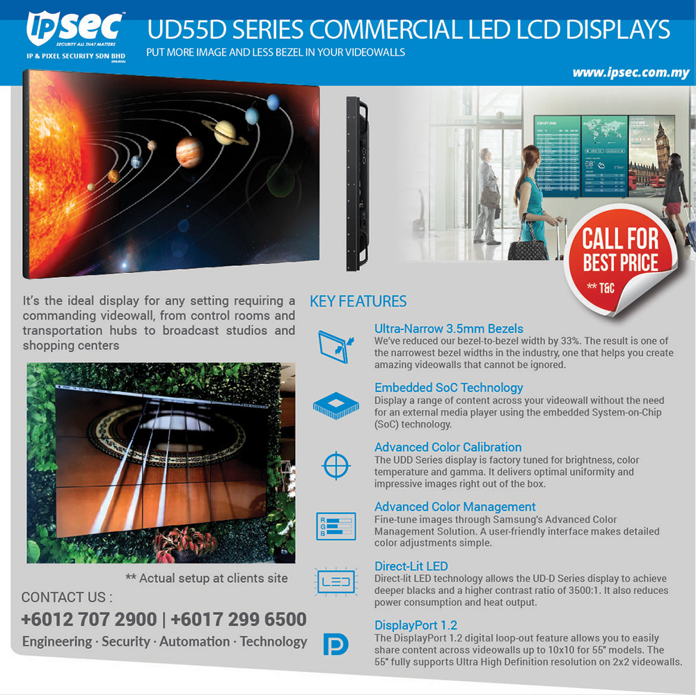 High End Led Display For Video Wall